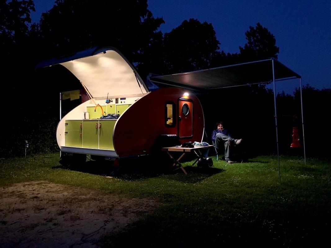 kleine caravan